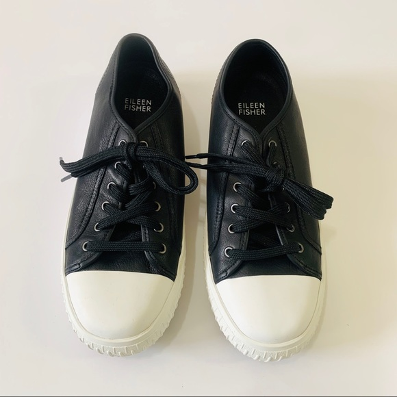 Eileen Fisher Shoes   Nod Sneaker Black